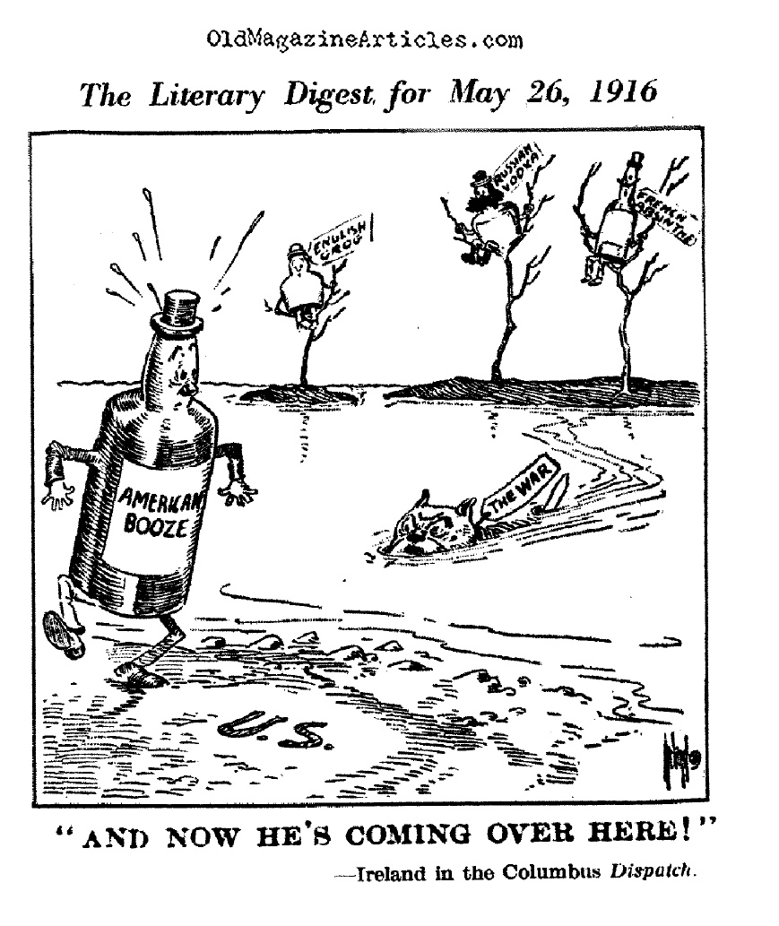 The War Encouraged Prohibitionists (Literary Digest, 1917)
